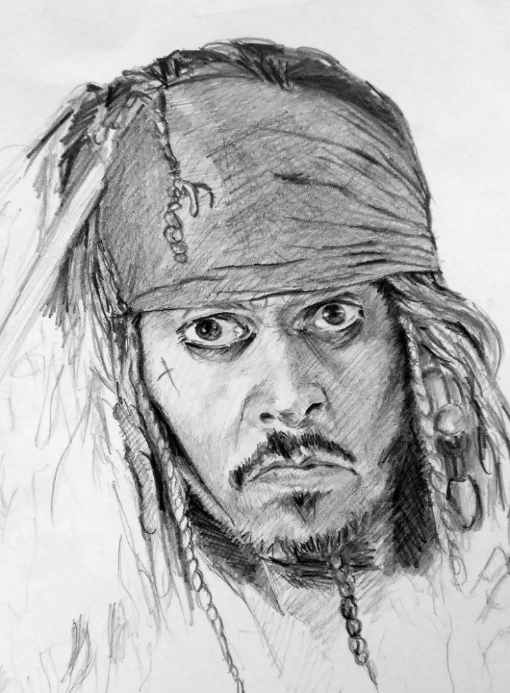 Johnny Depp by linshyhchyang